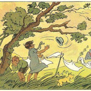 сонник ветер деревья